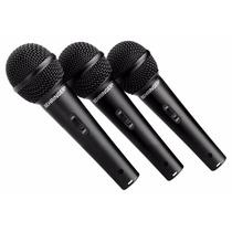 Microfone Behringer Xm1800s Ultravoice Kit 3, Case E Suporte
