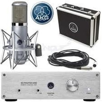 Akg Mic Perception 820 Tube É Na Galeria Dos Músicos