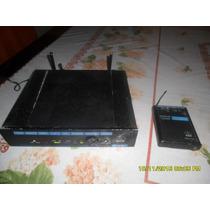 Transmissor S\fio Uhf Akg Pt300 \ Sr300 (n.shure\senheiser
