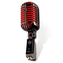 Microfone Arcano Vintage Vt-45bk2 Com Maleta