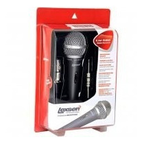 Microfone Profissional Dinâmico Lexsen Lm580 Com Cabo