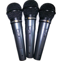 Kit 3 Microfones Kadosh Kds 300 Kit Com 3 Cabos