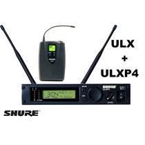 Sistema Sem Fio Shure Ulxp4 + Ulx1 Para Instrumentos
