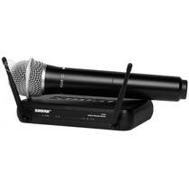 Microfone Shure S/ Fio Svx24br -pg58