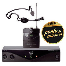 Microfone Akg Sem Fio Headset Perception Pw Sport L O J A