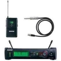 Transmissor Sem Fio Shure Uhf P/ Instrumento Slx14