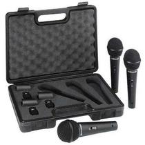 Microfone Behringer Modelo Xm1800s Kit Com 3 Original