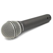 Microfone Vocal Dinamico Cardioide Samson Q7 Case Cachimbo