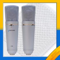Arcano Mic St-02 + Pop Filter + Pedestal + Cabo Balanceado
