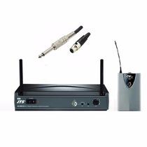 Transmissor Sem Fio Instrumento P10 Jts Us-8001d Mostruário