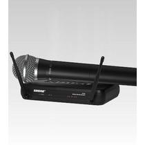 Frete Grátis - Shure Svx24br/pg58-p12 Microfone Sist S/ Fio