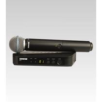 Frete Grátis - Shure Blx24br/beta58-m15 Microfone Sem Fio