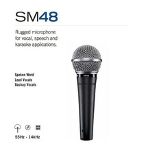 Shure Sm48-lc Dynam Cardioid Vocal Microfone