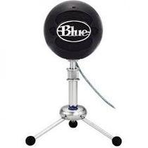 Microfone Condensador Blue Snowball Usb - Gloss Black