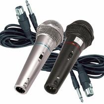 Microfone Csr Profissional Com Fio Es Leson Igreja Studio