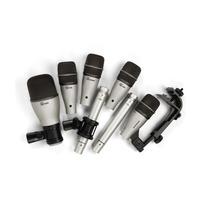 Promoção! Samson Dk7 Kit De 7 Microfones Para Bateria