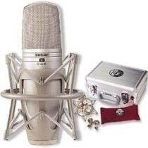 Microfone Condensador Shure Ksm44 Com Diafragma Duplo