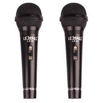 Kit 2 Microfone Dinâmico Profissionais + Cabos Wvngr