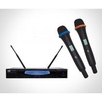 Microfone S/fio Tsi-ud-6000-uhf C/maleta