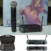 Microfone De Mao Shure Pgx24 Beta 58 Sem Fio - Frete Gratis
