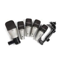 Microfone Samson Kit Dk5 Bateria - Loja Bolero Music