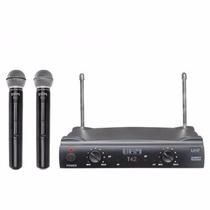 Microfone Brm T42i Com 2 Microfone S/ Fio