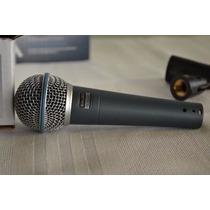 Microfone De Mão Com Fio Shure Beta 58a
