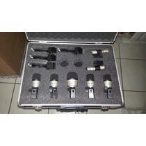 Kit Microfone Yoga P/bateria 7pçs Mxds7