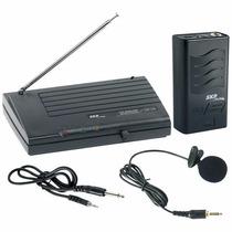 Microfone Sem Fio Auricular Headset De Cabeça Skp Vhf-855