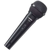 Microfone Com Fio Shure Sv200 C/ Cabo Novo Na Caixa Envio Já