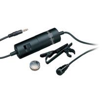 Microfone Lapela Atr 3350 Audio Technica Smartphone/camera