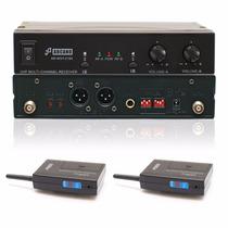 Fg Microfone Sem Fio Arcano Duplo Uhf 16 Canais Arwxy2165