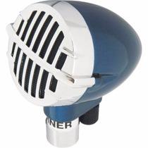 Microfone Gaita Hohner Blaster Com Cabo Harmonica Oferta