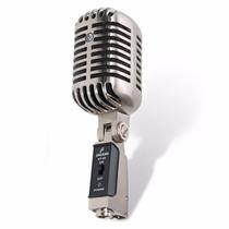 Sjf Microfone Arcano Vintage Vt-45 Com Maleta