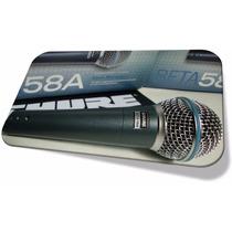 Microfone Profissional Shur E Beta 58a 58 A Mexico Id1983