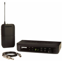 Sistema Sem Fio Wireless + Cabo Para Instrumento Shure Blx14