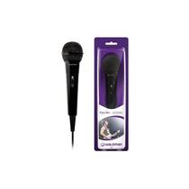 Microfone Com Fio Waldman Mic 100 Preto Dinâmico Cardióide M