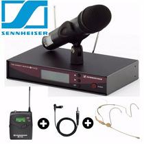 Microfone Sennheiser Ew135 G2 + Auricular + Lapela