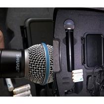Microfone Shure Pgx24/beta58a Sem Fio