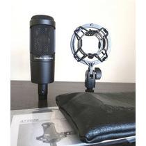 Microfone At2035 Completo 100% Novo (melhor Que At2020)