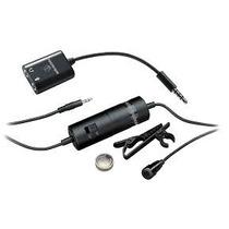 Microfone Lapela Atr3350is Audio-technica Profiss. Youtubers