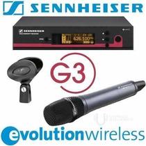 Microfone Sennheiser S/fio Ew135 G3 Original Made In Germany