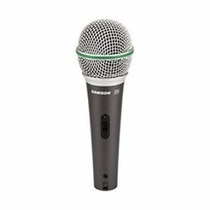 Samson Q6 Super-cardioid Handheld Dynamic Microphone