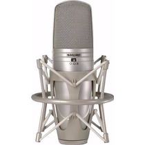 Microfone Condensador Shure Ksm44 Com Diafragma Duplo Novo