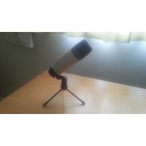Kit Com Microfone Samson C03u Usb + Shock Mount + Pop Filter