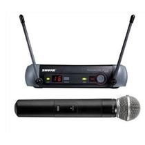 Microfone Shure Pgx24beta58 Sem Fio