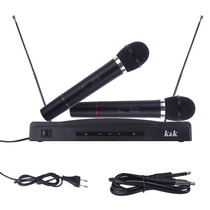 Microfone Sem Fio Duplo Fm Receptor Palestra Escola Igreja