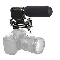Microfone Profissional Estéreo Jjc Mic-3 - Temos Loja Física