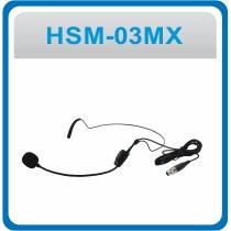 Microfone Headset Lyco Xlr Auricular - Hsm-03mx