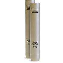 Mxl 603 Pair Microfones Kit Condensador Instrumentos